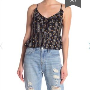 Free People Love to Love Printed Cami-